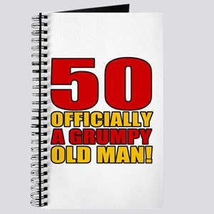 Grumpy 50th Birthday Journal