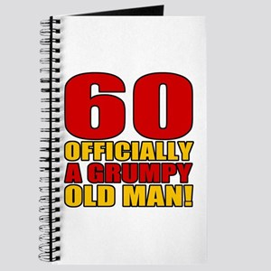 Grumpy 60th Birthday Journal