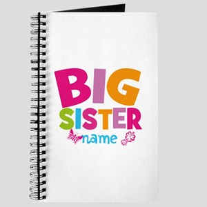 Personalized Name - Big Sister Journal