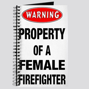 Female Firefighter Property Journal