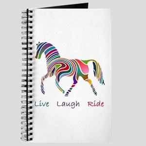 Rainbow horse gift Journal