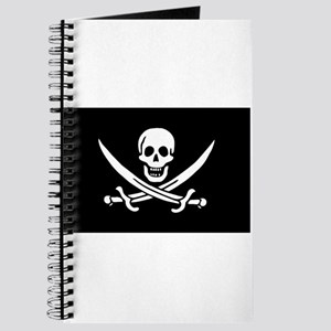 Pirate Journal - Calico Jack Flag