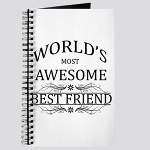 World's Most Awesome Best Friend Journal