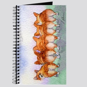 Five Corgi butts Journal