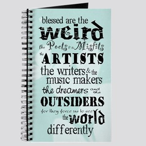 Blessed Are The Weird Journal