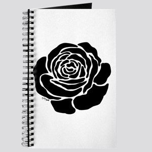 Cool Black Rose Journal
