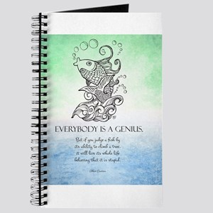 Everybody is a Genius Koi Fish Journal