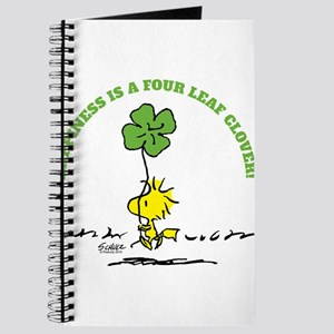 Happiness is a Four Leaf Clover Journal