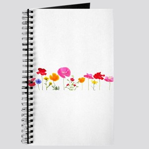 wild meadow flowers Journal
