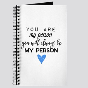 Grey's Anatomy - You are my person Journal