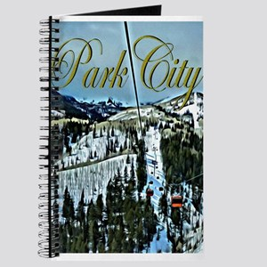 Park City Painted Poster Journal