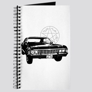 Impala with devils trap Journal