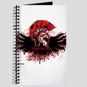 Red splatter overlay Journal