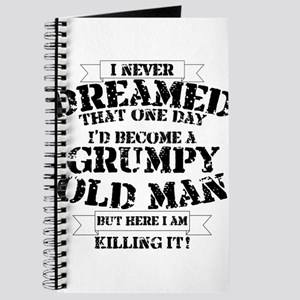 grumpy old man killing it Journal