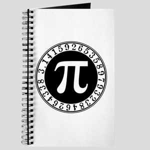Pi sign in circle Journal