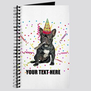 Custom French Bulldog Birthday Journal
