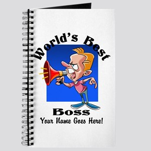 Worlds Best Boss Journal