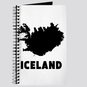 Iceland Silhouette Journal