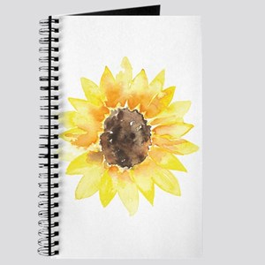 Cute Yellow Sunflower Journal