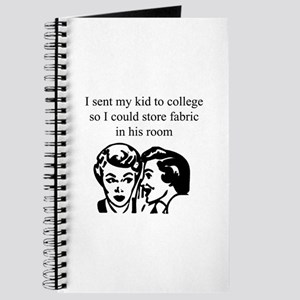 Fabric - Sent Son to College Journal
