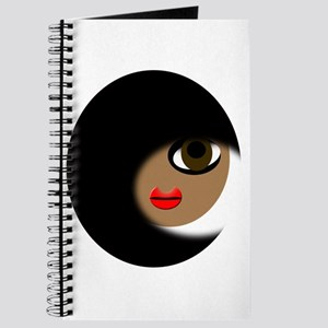 Black Hair Girl Journal