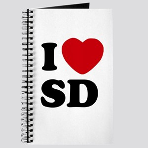 I Heart SD San Diego Journal Notebook