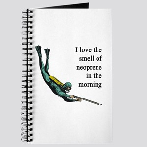 Neoprene Diver Journal