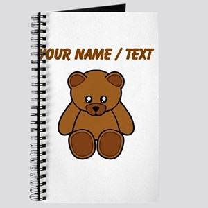 Custom Teddy Bear Journal