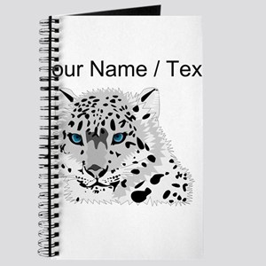Custom Snow Leopard Journal