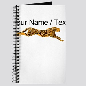 Custom Cheetah Journal