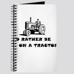 Id rather be on a tractor Journal