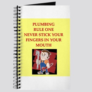 plumbing joke Journal