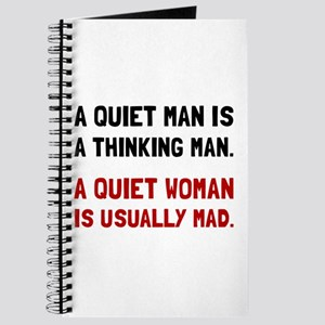 Quiet Woman Mad Journal
