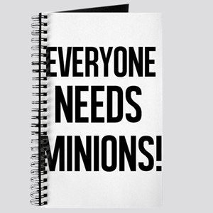 Everyone Needs Minions Journal