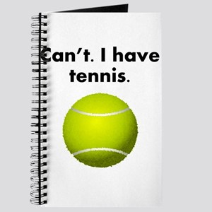 Cant I Have Tennis Journal