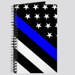 Police Flag: Thin Blue Line Journal