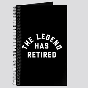 The Legend Has Retired Journal