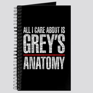 Grey's All I Care About Journal