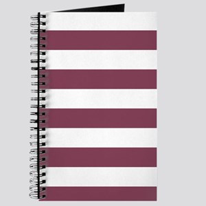 Purple, Mulberry: Stripes Pattern (Horizon Journal