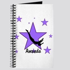 Purple Trampoline Star Journal
