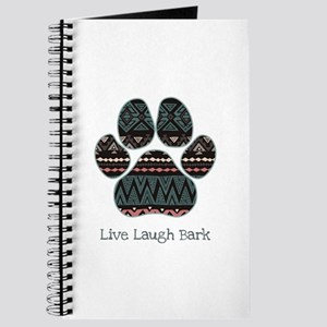 Live Laugh Bark Journal
