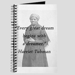 Harriet Tubman Quotes Notebooks - CafePress