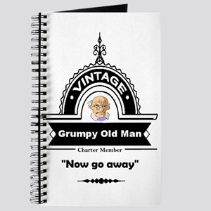 Fun Quote Grumpy Old Man Journal