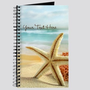 Personalized - Beach Starfish* Journal