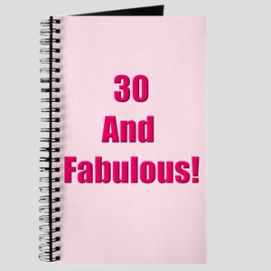 30 and Fabulous Journal