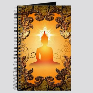 Buddha in the sunset Journal