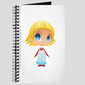 Little Blonde Girl Child Journal