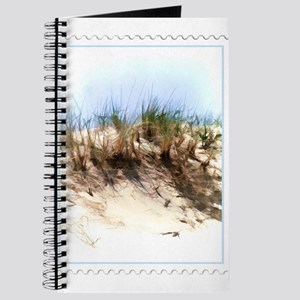 Watercolor Sketch of Sand Dune Stamp Journal