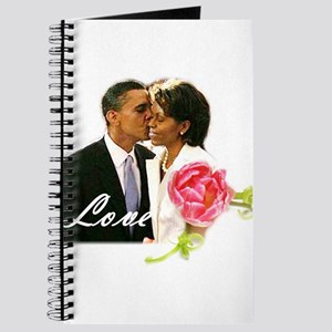 Barack & Michelle Love Journal