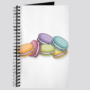 Colorful French Macaron Cookies Journal